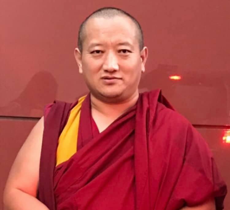 formal portrait photo of Geshe Lobsang Dorji