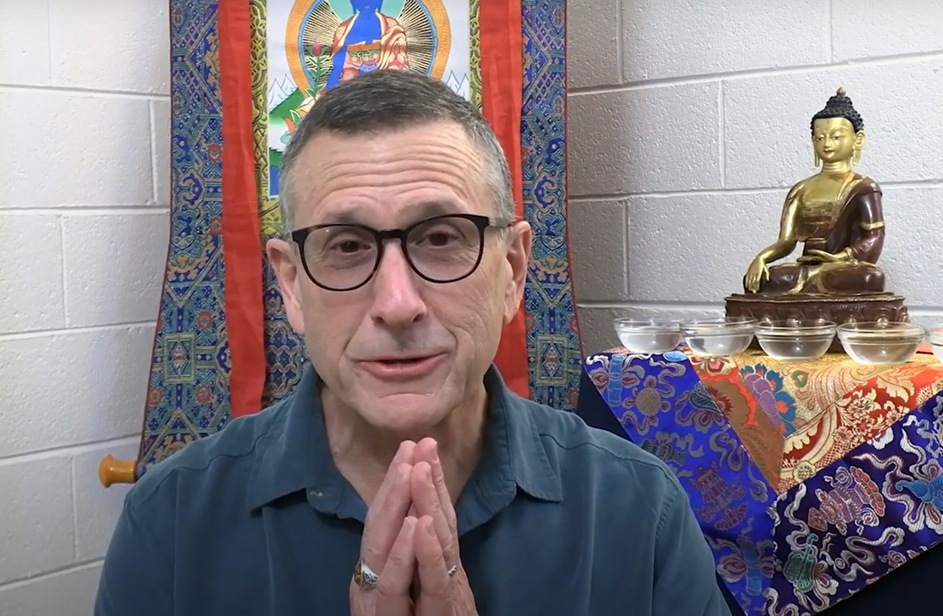 "Lama Yeshe Jinpa answers the question ""why study tenets?"""