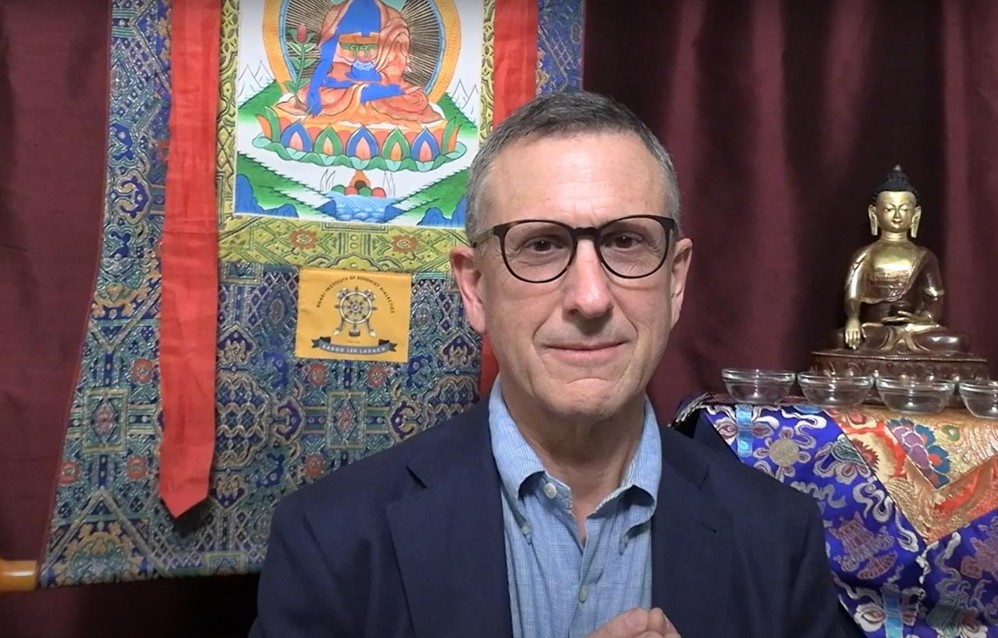 Lama Yeshe Jinpa Saga Dawa Greetings