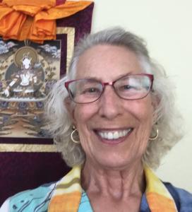 Head shot of Susan Farrar, Lion's Roar Board Member