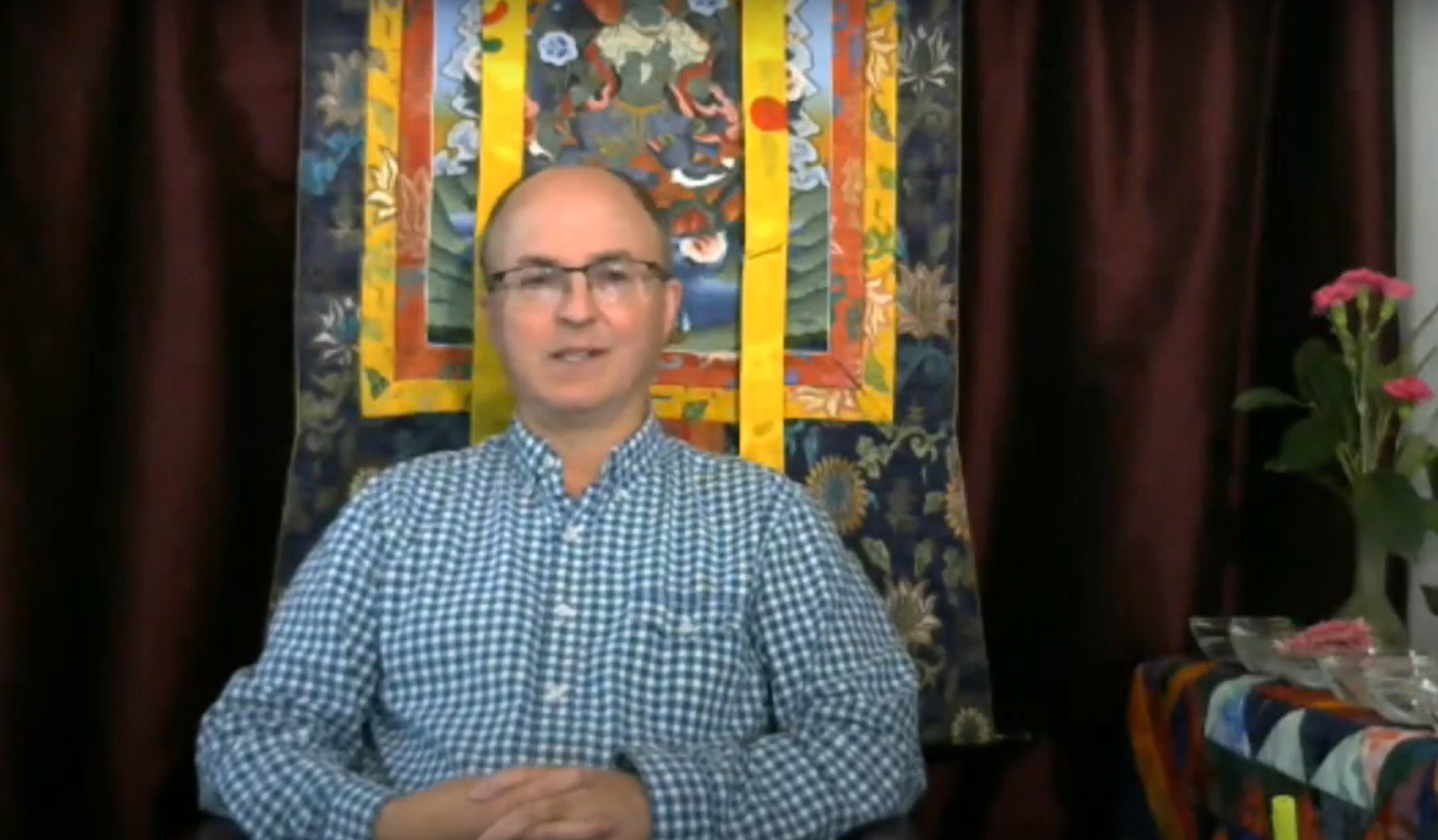 Andrew Smith talks about bringing this moment to the dharma