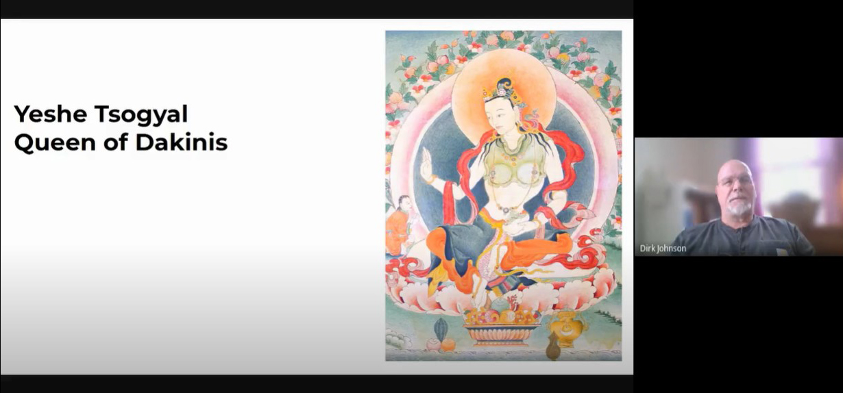 Dirk Johnson discusses Yeshe Tsogyal, queen of dakinis