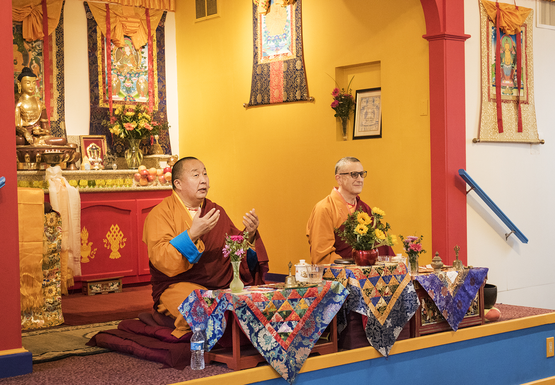 Lama Yeshe Jinpa and Geshe Damchoebaazar Gurjav Lead Losar 2021 / 2148 Celebration at do nga dargey temple