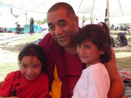 Geshe Tsewang Dorje at Ngari Institute, Ladakh India