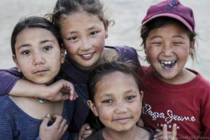 students at ngari institute, ladakh, india